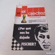 Coleccionismo deportivo: AJEDREZ. CHESS.--- EL AJEDREZ. REVISTA TÉCNICA DE AJEDREZ. NUM 10 OCTUBRE -1980. Lote 183594895