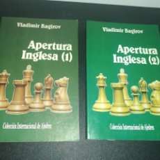 Coleccionismo deportivo: VLADIMIR BAGIROV, APERTURA INGLESA 1 & 2. Lote 183869665