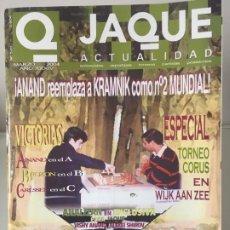 Coleccionismo deportivo: AJEDREZ. CHESS. REVISTA DE AJEDREZ JAQUE Nº 576 - MARZO DE 2004. Lote 183987318