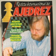 Coleccionismo deportivo: AJEDREZ. CHESS. REVISTA INTERNACIONAL DE AJEDREZ Nº 25 - AÑO 1989. Lote 183991950