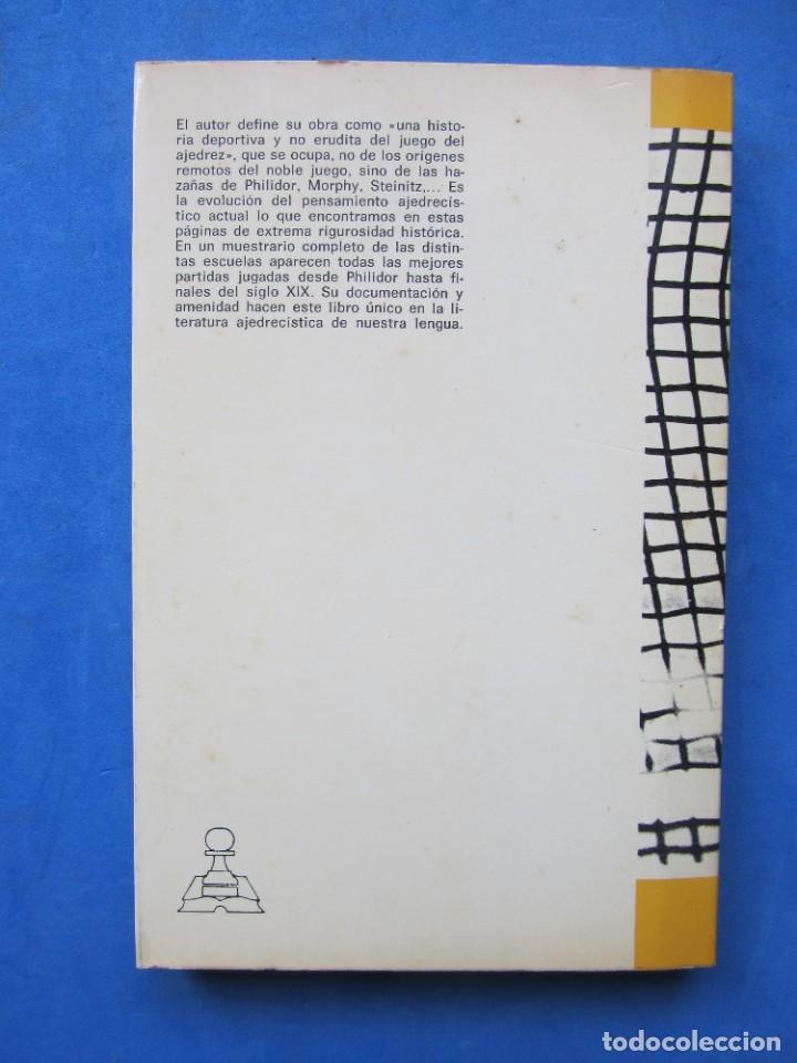 Coleccionismo deportivo: La edad de oro del ajedrez. Juan Fernandez Rua. Editorial Ricardo Aguilera Madrid 1973 - Foto 2 - 183997135