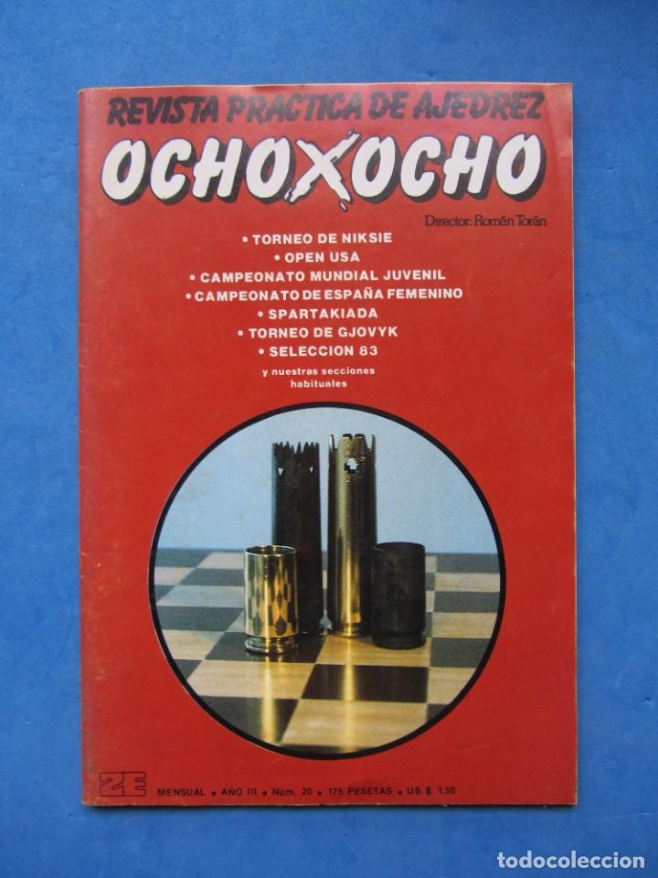 REVISTA PRACTICA DE AJEDREZ OCHOXOCHO. NUM. 20 1981 (Coleccionismo Deportivo - Libros de Ajedrez)
