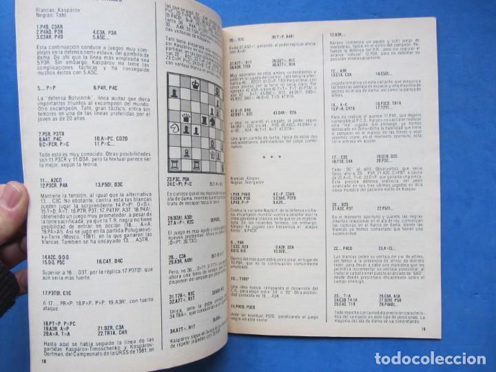 Coleccionismo deportivo: Revista practica de Ajedrez OchoXOcho. Num. 20 1981 - Foto 3 - 183998486