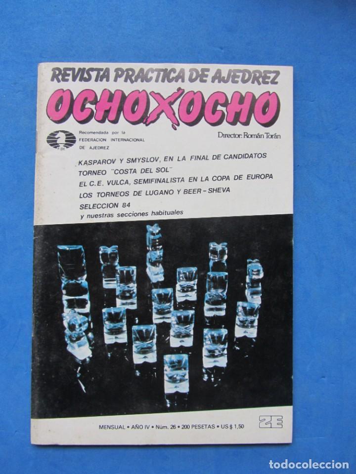 REVISTA PRACTICA DE AJEDREZ OCHOXOCHO. NUM. 26 1981 (Coleccionismo Deportivo - Libros de Ajedrez)