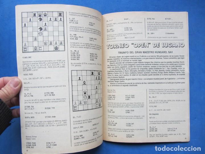 Coleccionismo deportivo: Revista practica de Ajedrez OchoXOcho. Num. 26 1981 - Foto 3 - 183998667