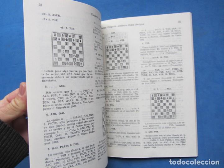 Coleccionismo deportivo: Revista española de Ajedrez Jaque. Cuadernos Teoricos 76. Octubre 1980 - Foto 3 - 183999931