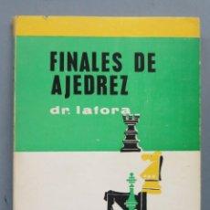 Coleccionismo deportivo: FINALES DE AJEDREZ. DR. LAFORA. Lote 184134833