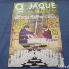 Coleccionismo deportivo: AJEDREZ. CHESS. REVISTA JAQUE ACTUALIDAD MARZO 2004. Nº 576. Lote 184270800
