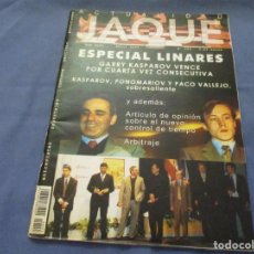 Coleccionismo deportivo: AJEDREZ. CHESS. REVISTA JAQUE ACTUALIDAD ABRIL 2002. Nº 553. Lote 184270985
