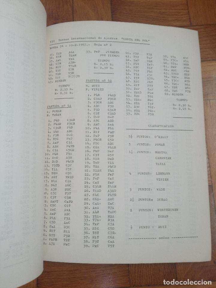 Coleccionismo deportivo: VII TORNEO INTERNACIONAL DE AJEDREZ COSTA DEL SOL. MALAGA 1967 - PUBLICIDAD PEPSI COLA - Foto 4 - 184708882