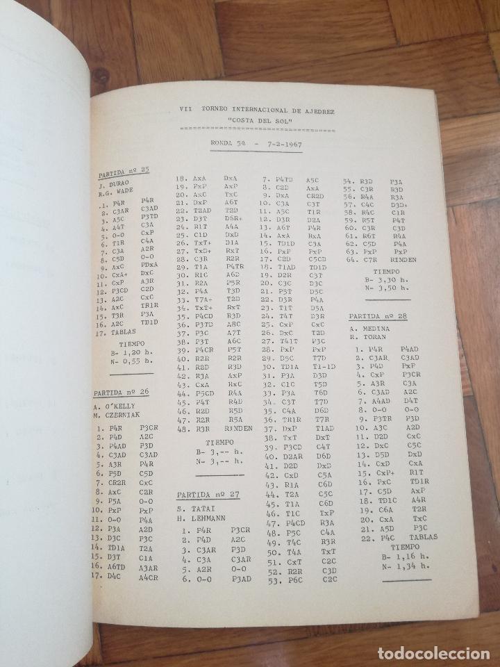 Coleccionismo deportivo: VII TORNEO INTERNACIONAL DE AJEDREZ COSTA DEL SOL. MALAGA 1967 - PUBLICIDAD PEPSI COLA - Foto 5 - 184708882