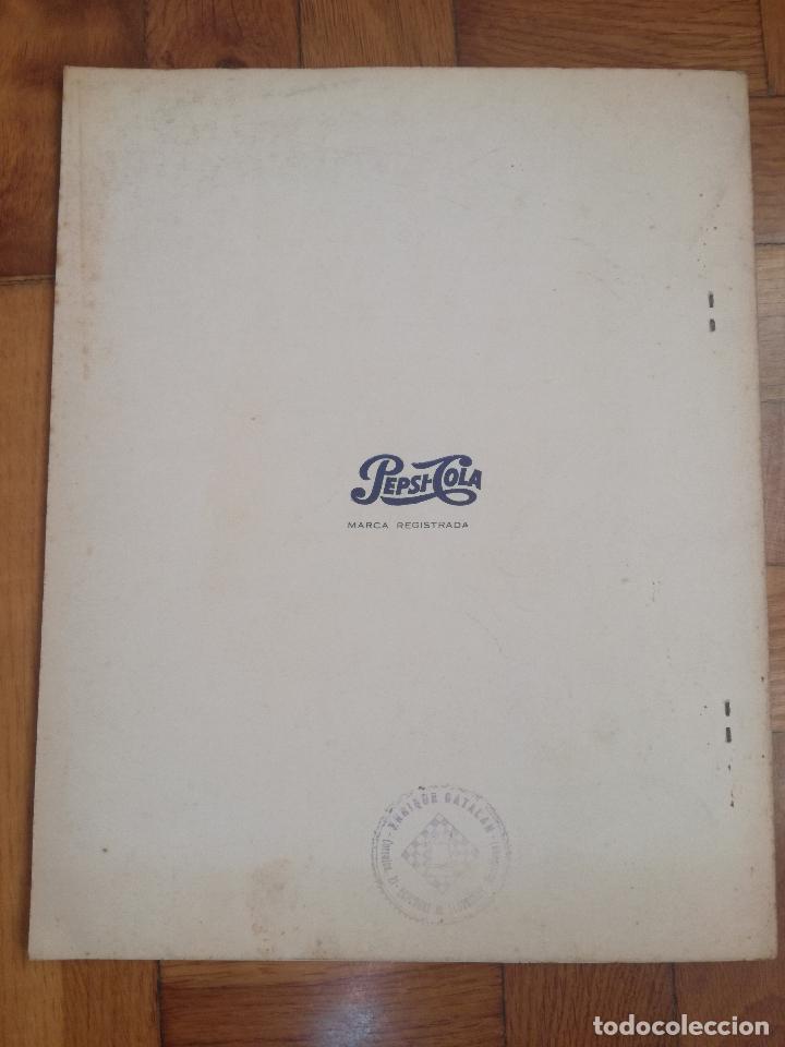 Coleccionismo deportivo: VII TORNEO INTERNACIONAL DE AJEDREZ COSTA DEL SOL. MALAGA 1967 - PUBLICIDAD PEPSI COLA - Foto 6 - 184708882