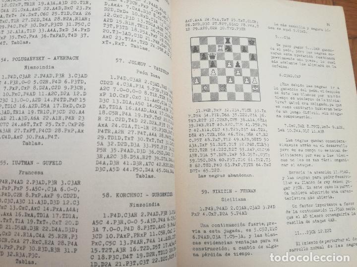 Coleccionismo deportivo: XXVI CAMPEONATO DE AJEDREZ DE LA URSS TIBILISI 1959 - BIBLIOTECA ARGENTINA DE AJEDREZ - Foto 4 - 184709198