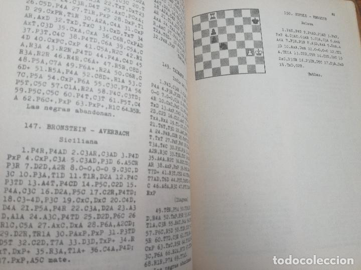Coleccionismo deportivo: XXVI CAMPEONATO DE AJEDREZ DE LA URSS TIBILISI 1959 - BIBLIOTECA ARGENTINA DE AJEDREZ - Foto 5 - 184709198