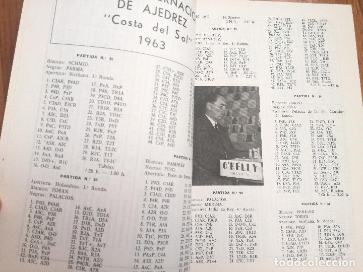 Coleccionismo deportivo: XIV TORNEO INTERNACIONAL DE AJEDREZ COSTA DEL SOL MALAGA 1961 - 1974 - Foto 4 - 184709273