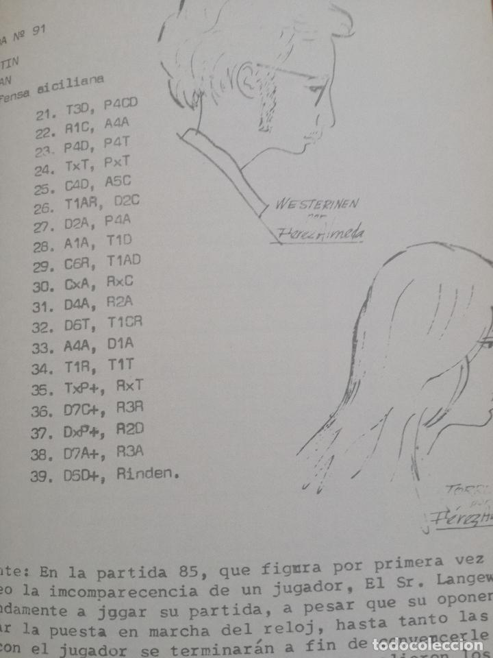 Coleccionismo deportivo: XIV TORNEO INTERNACIONAL DE AJEDREZ COSTA DEL SOL MALAGA 1961 - 1974 - Foto 8 - 184709273