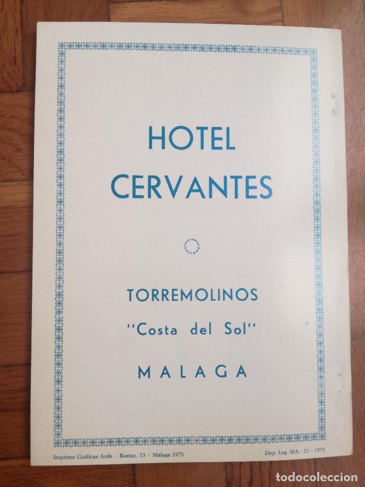 Coleccionismo deportivo: XIV TORNEO INTERNACIONAL DE AJEDREZ COSTA DEL SOL MALAGA 1961 - 1974 - Foto 9 - 184709273