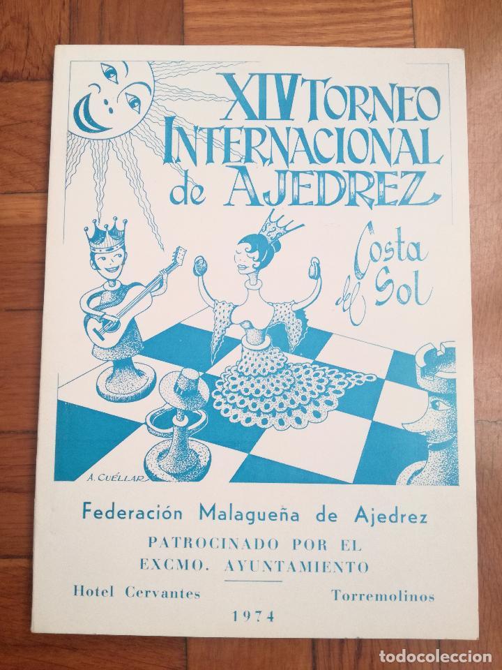 XIV TORNEO INTERNACIONAL DE AJEDREZ COSTA DEL SOL MALAGA 1961 - 1974 (Coleccionismo Deportivo - Libros de Ajedrez)
