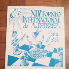 Coleccionismo deportivo: XIV TORNEO INTERNACIONAL DE AJEDREZ COSTA DEL SOL MALAGA 1961 - 1974. Lote 184709273