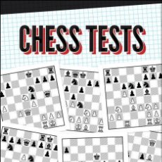 Coleccionismo deportivo: AJEDREZ. CHESS TESTS. REINFORCE KEY SKILLS AND KNOWLEDGE - MARK DVORETSKY. Lote 185693203