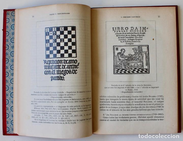 Coleccionismo deportivo: MANUAL DE AJEDREZ- JOSÉ PALUZÍE Y LUCENA-EDIT. HIJOS DE PALUZÍE- 1905/1911-3 TOMOS - Foto 5 - 185858097