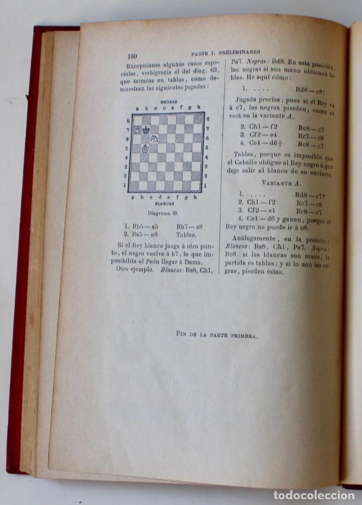 Coleccionismo deportivo: MANUAL DE AJEDREZ- JOSÉ PALUZÍE Y LUCENA-EDIT. HIJOS DE PALUZÍE- 1905/1911-3 TOMOS - Foto 7 - 185858097