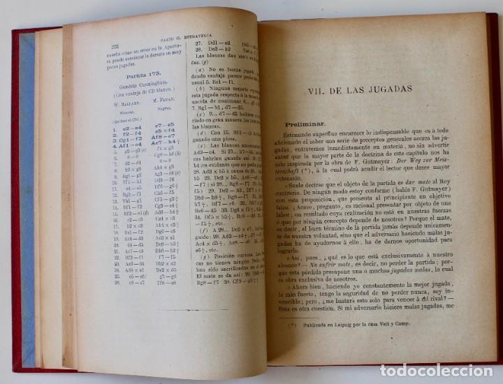 Coleccionismo deportivo: MANUAL DE AJEDREZ- JOSÉ PALUZÍE Y LUCENA-EDIT. HIJOS DE PALUZÍE- 1905/1911-3 TOMOS - Foto 13 - 185858097