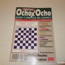 Coleccionismo deportivo: AJEDREZ.CHESS. REVISTA ESPECIAL OCHOX OCHO. JUEGO Y PRACTICA DEL AJEDREZ. Nº 26. Lote 186247116