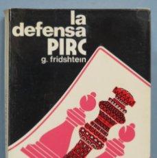 Colecionismo desportivo: LA DEFENSA PIRC. G. FRIDSHTEIN. Lote 186355906