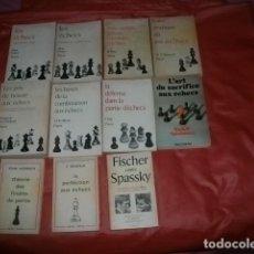 Coleccionismo deportivo: LOTE DE ONCE LIBROS SOBRE AJEDREZ EN FRANCÉS (EDITORIAL PAYOT). Lote 188806805