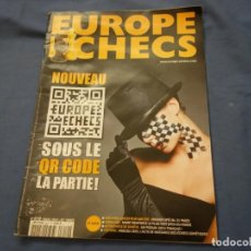 Coleccionismo deportivo: AJEDREZ. CHESS. EUROPE CHESS Nº 619 AÑO 2012. Lote 189232335