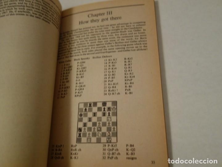 Coleccionismo deportivo: AJEDREZ.CHESS.FISCHER- SPASSKY THE WORLD CHESS CHAMPIONSHIP 1972. INTRODUCTION BY ARTHUR KOESTLER. - Foto 3 - 189511827