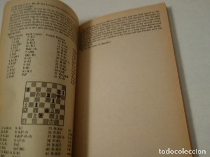 Coleccionismo deportivo: AJEDREZ.CHESS.FISCHER- SPASSKY THE WORLD CHESS CHAMPIONSHIP 1972. INTRODUCTION BY ARTHUR KOESTLER. - Foto 6 - 189511827