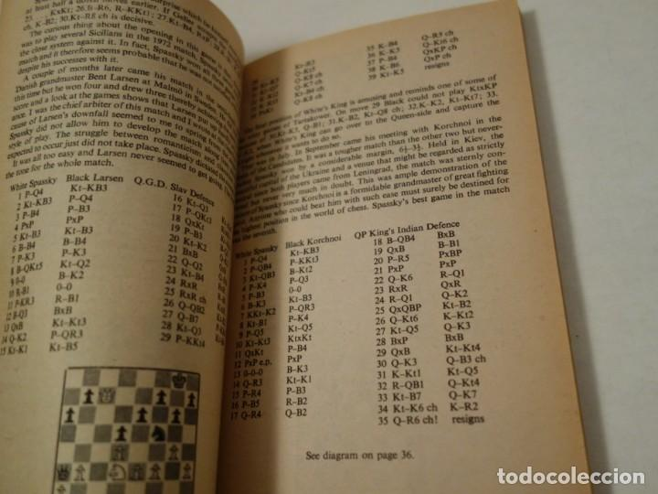 Coleccionismo deportivo: AJEDREZ.CHESS.FISCHER- SPASSKY THE WORLD CHESS CHAMPIONSHIP 1972. INTRODUCTION BY ARTHUR KOESTLER. - Foto 7 - 189511827