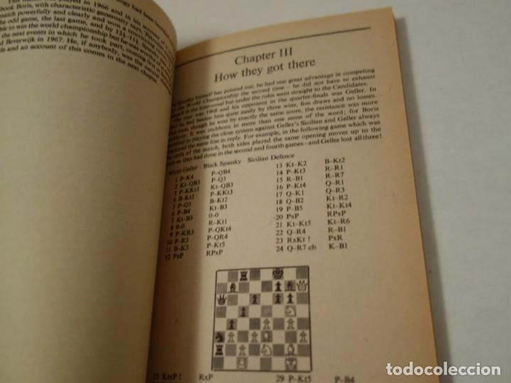 Coleccionismo deportivo: AJEDREZ.CHESS.FISCHER- SPASSKY THE WORLD CHESS CHAMPIONSHIP 1972. INTRODUCTION BY ARTHUR KOESTLER. - Foto 8 - 189511827