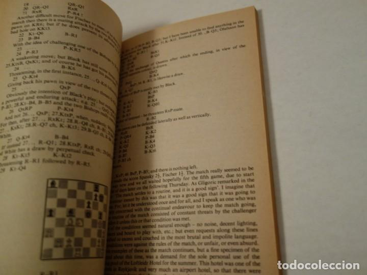 Coleccionismo deportivo: AJEDREZ.CHESS.FISCHER- SPASSKY THE WORLD CHESS CHAMPIONSHIP 1972. INTRODUCTION BY ARTHUR KOESTLER. - Foto 9 - 189511827