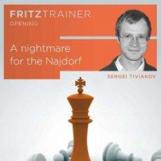 Coleccionismo deportivo: AJEDREZ. CHESS. A NIGHTMARE FOR THE NAJDORF - SERGEI TIVIAKOV DVD. Lote 191009203