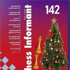 Coleccionismo deportivo: AJEDREZ. CHESS INFORMANT 142. COUNTDOWN - IN THIS ISSUE: SOKOLOV – EUROPEATHE CHESS INFORMANT TEAM. Lote 191010876