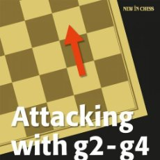 Coleccionismo deportivo: AJEDREZ. ATTACKING WITH G2-G4. THE MODERN WAY TO GET THE UPPER HAND IN CHESS - DMITRY KRYAKVIN. Lote 191083422