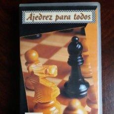 Coleccionismo deportivo: VHS AJEDREZ PARA TODOS. VISUAL EDICIONES. 1995.. Lote 191249885