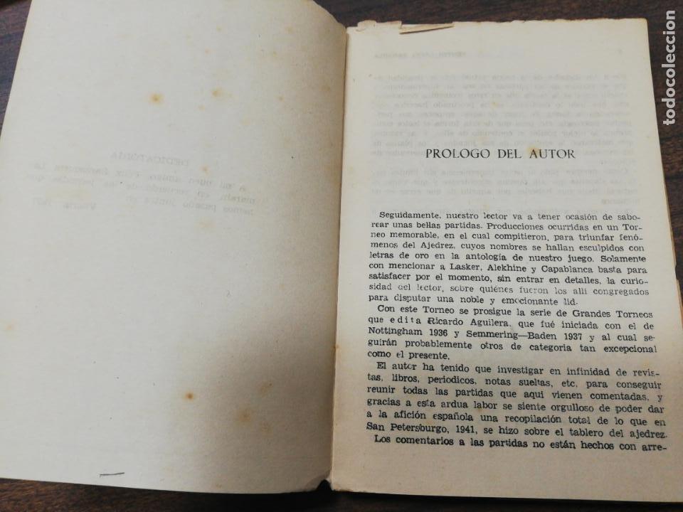 Coleccionismo deportivo: GRAN TORNEO DE SAN PETERSBURGO. 1914. BENITO LOPEZ ESNAOLA. LOS GRANDES CERTAMENES DEL AJEDREZ. - Foto 3 - 194003301