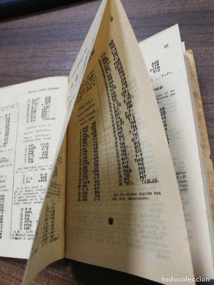 Coleccionismo deportivo: GRAN TORNEO DE SAN PETERSBURGO. 1914. BENITO LOPEZ ESNAOLA. LOS GRANDES CERTAMENES DEL AJEDREZ. - Foto 5 - 194003301