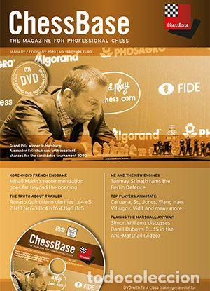 AJEDREZ. CHESSBASE MAGAZINE 193. THE MAGAZINE FOR PROFESSIONAL CHESS - THE CHESSBASE TEAM DVD (Coleccionismo Deportivo - Libros de Ajedrez)