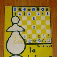 Coleccionismo deportivo: EUWE, MAX. LA DEFENSA FRANCESA (COLECCIÓN DE MONOGRAFIAS DE APERTURAS ; 2) . Lote 194118531
