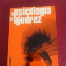 Coleccionismo deportivo: LA PSICOLOGÍA EN AJEDREZ. N. V. KROGIUS.. Lote 194199360