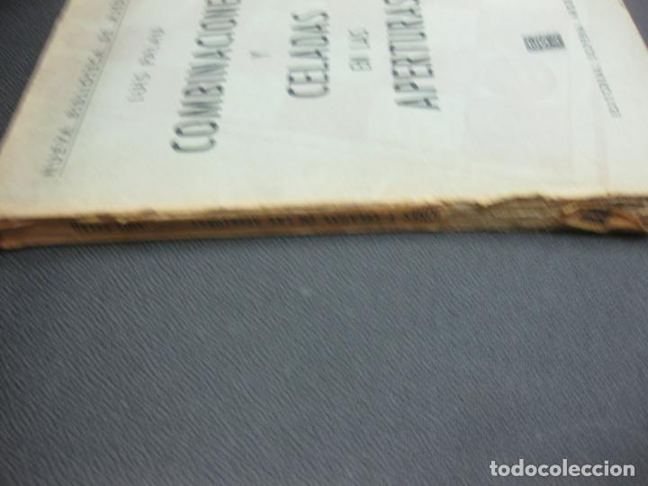 Coleccionismo deportivo: AJEDREZ. LUIS PALAU. COMBINACIONES Y CELADAS EN LAS APERTURAS. EDITORIAL SOPENA ARGENTINA 1960. - Foto 2 - 194667118