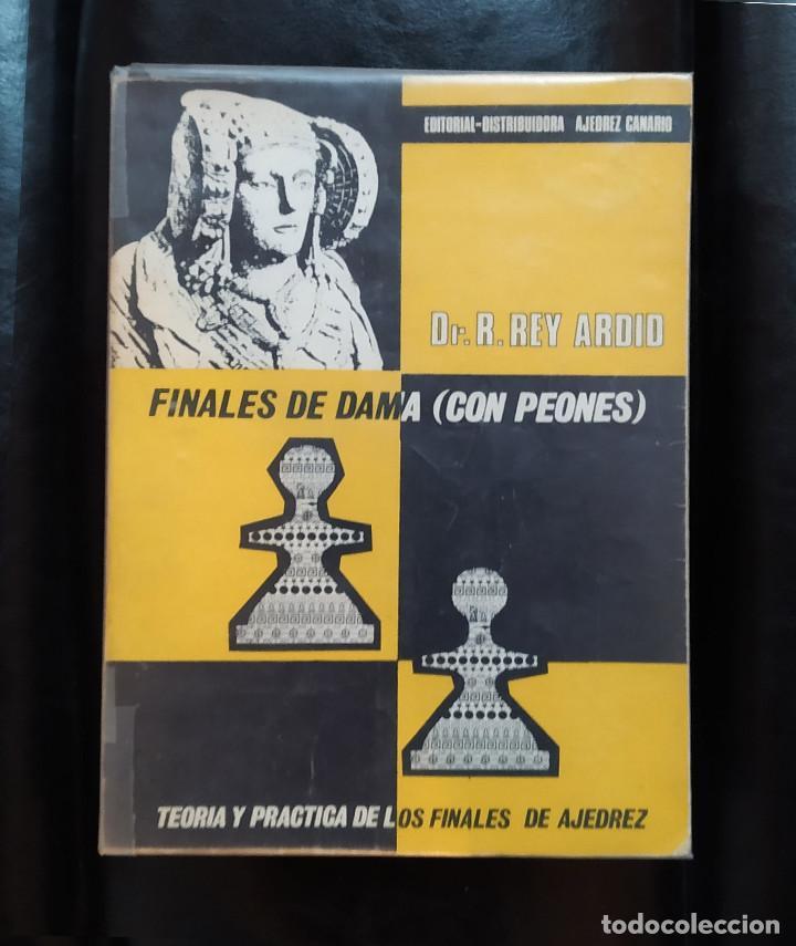 AJEDREZ FINALES DE DAMA CON PEONES REY ARDID (Coleccionismo Deportivo - Libros de Ajedrez)