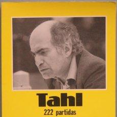 Coleccionismo deportivo: TAHL 222 PARTIDAS. Lote 194862290