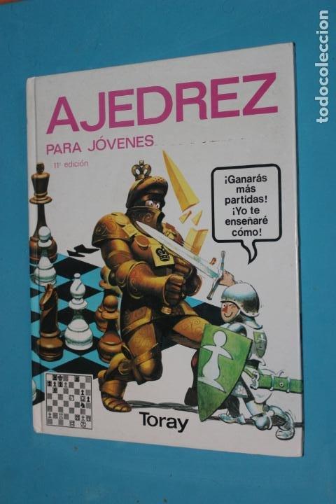 AJEDREZ PARA JOVENES, TORAY 1994 (Coleccionismo Deportivo - Libros de Ajedrez)