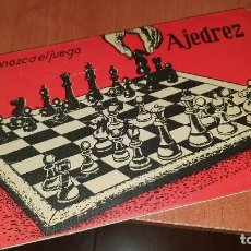 Coleccionismo deportivo: AJEDREZ, CONOZCA EL JUEGO, ED. SCIENTIA, SEGUNDA EDICION DE 1966. Lote 195447080